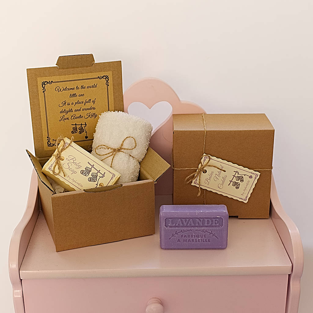 Eco Friendly Personalised Baby Soap Gift Set By Aphrodite Ares Notonthehighstreet Com