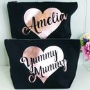 Personalised Or Yummy Mummy Make Up Toiletries Bag