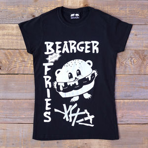 Bearger T Shirt Women's Fitted T Shirt - new in fashion