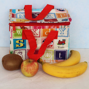 Insulated Alphabet Lunch Bag - lunch boxes & bags