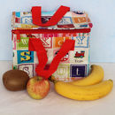 Insulated Alphabet Lunch Bag