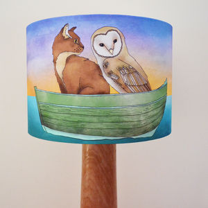 Owl And The Pussycat Lampshade
