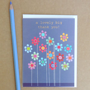 A Big Thank You Greetings Card