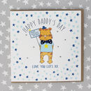 Happy Daddy's Day Card Tiger Design