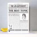 'The Gindependent' Gin Personalised Card