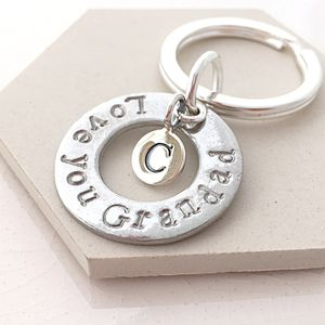 Love You Grandad Keyring - new in fashion