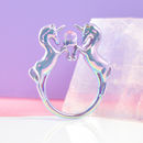 Lilac Iridescent Unicorn Ring