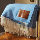 Personalised Wool Throw Engraved With Corinthians 13