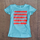 Women's Personalised Sound Wave T Shirts