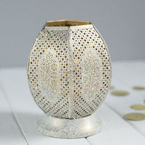Open Moroccan Lantern - candles & home fragrance