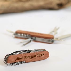 Personalised Multi Tool Pocket Knife 11 Functions