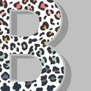 RAINBOW LEOPARD PRINT INITIAL CROPPED