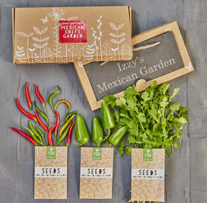 Personalised Mexican Chef's Garden Gift