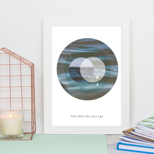 Dive Into The Deep End Print - nature & landscape