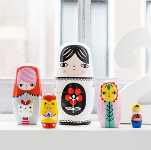Wooden Nesting Dolls - keepsakes