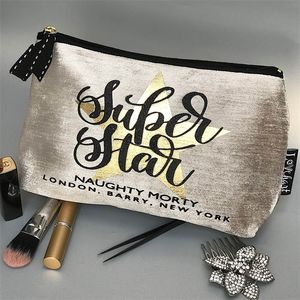 'Super Star' Personalised Make Up Bag