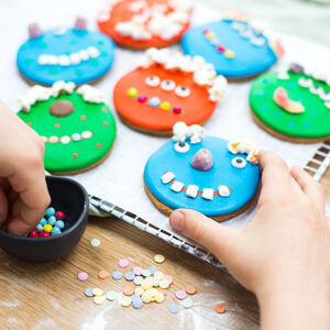 Personalised Children's Monster Bake And Craft Kit