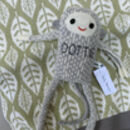 Knitted Lambswool Baby Monkey