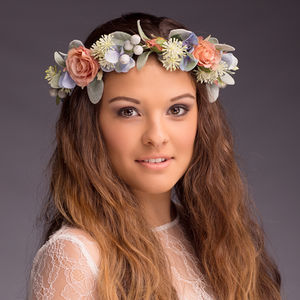 Verity Blossom Flower Crown - head pieces