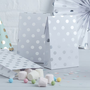Silver Foiled Party / Sweet Bags - party bags and ideas