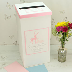 Personalised Cupid Wedding Post Box
