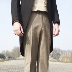 Trousers In Houndstooth