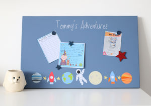 Personalised Space Board - noticeboards