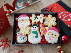 Christmas Indulgent Biscuit Box