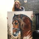 Equine Art | Horse Prints On Canvas | Horse Gifts
