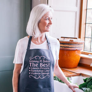 Personalised You're The Best Apron - christmas with free uk delivery