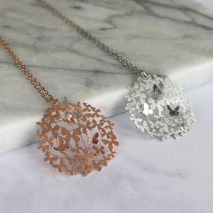 Butterfly Pendant Necklace - necklaces & pendants