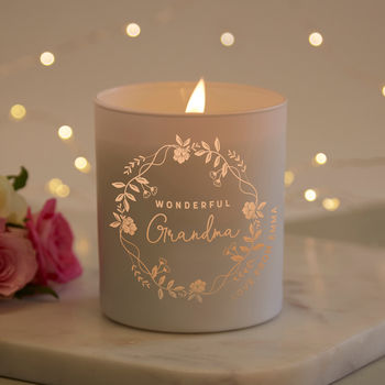 Grandma Christmas Gift Scented Candle
