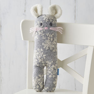 Mabel Mouse Knit Toy - gifts for babies