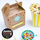 Personalised Marshmallow Goo Party Bag Popcorn Kit