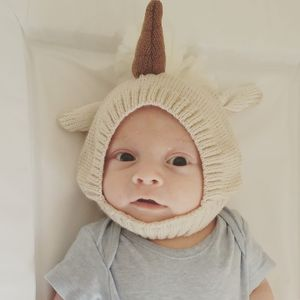 Knitted Unicorn Hat