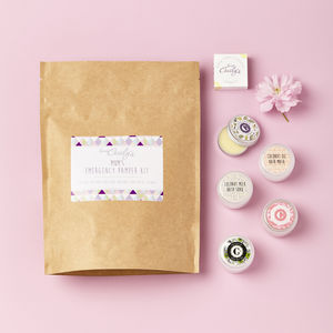Personalised Emergency Pamper Kit - skin care