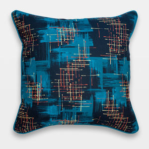 Midcentury Inspired Cushion 'Twilight' Design