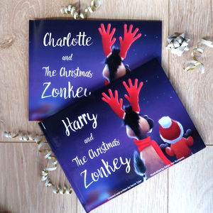 Personalised Christmas Story Book - books