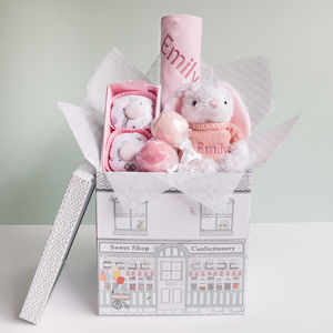 Little Love Snuggle Hamper, Pink - baby care
