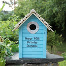 Personalised Wooden Bird Box