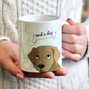 Personalised Love Dog Mug