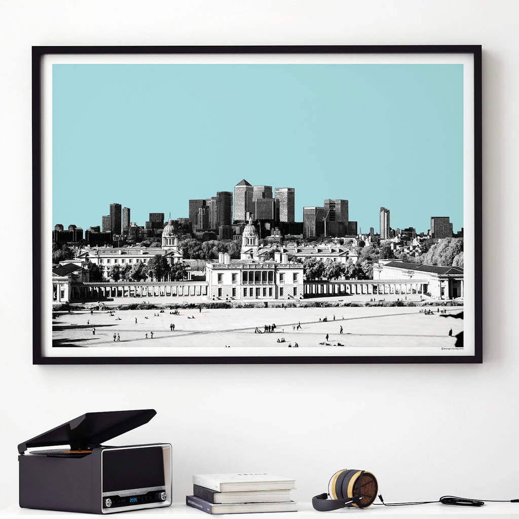 london skyline art print by bronagh kennedy - art prints ...