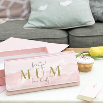 Mother's Day Gift Purse 'Blush Watercolour'