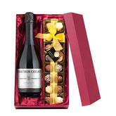 Personalised Prosecco And Chocolate Truffles - food & drink