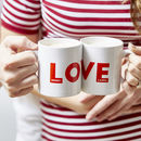 Personalised Love Mug Set