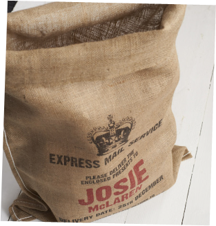 Personalised Christmas Sack by Harrow & Green