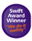Swift Customer Service Award 2008