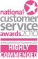 National Customer Service Award 2010