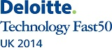 Deloitte Technology Fast 50 UK 2014