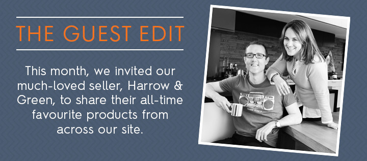 the guest edit by harrow & green